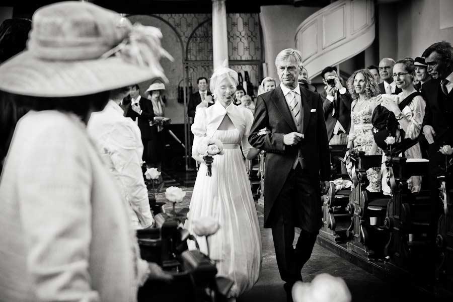 Einzug der Braut in die Kirche
