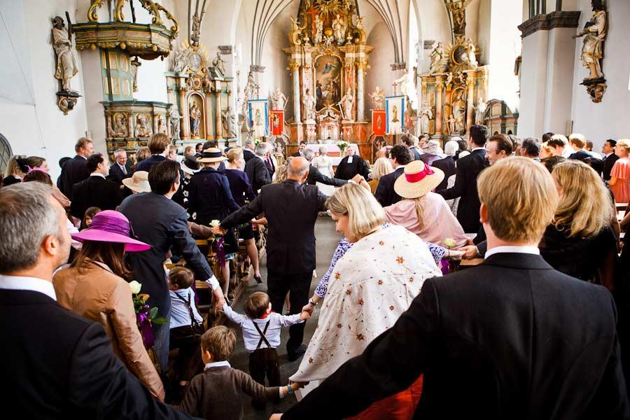 Kirchengemeinde Abschlußgebet