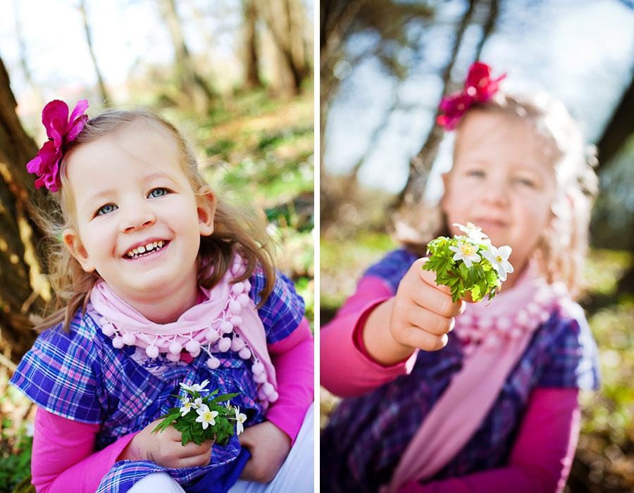 Paulina und die Blumen