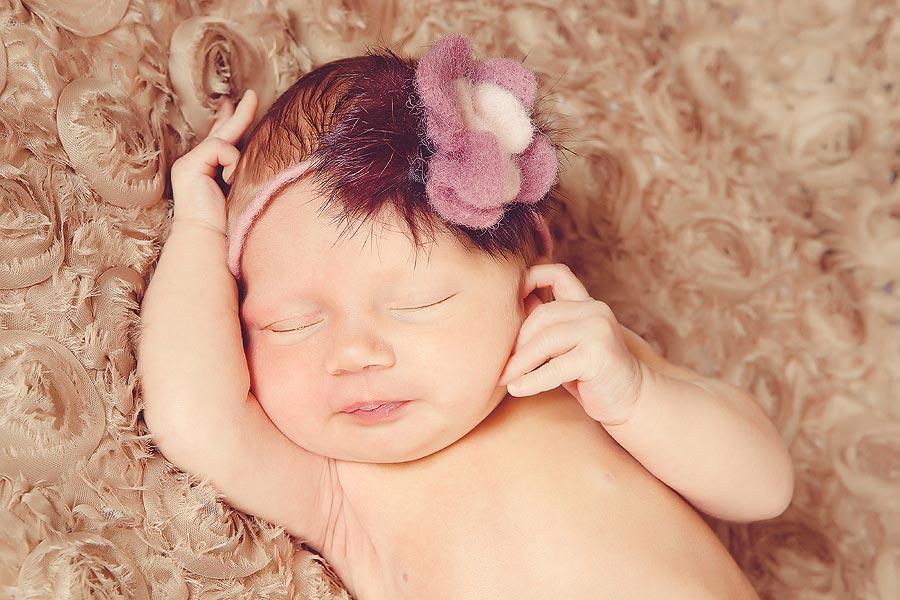 Baby Lotta entspannt