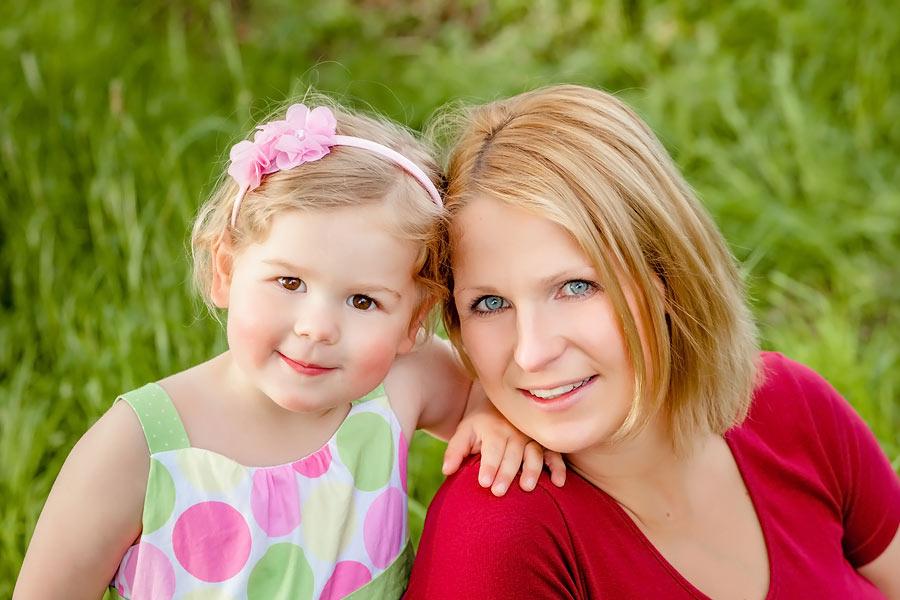 Mutter Kind Portrait