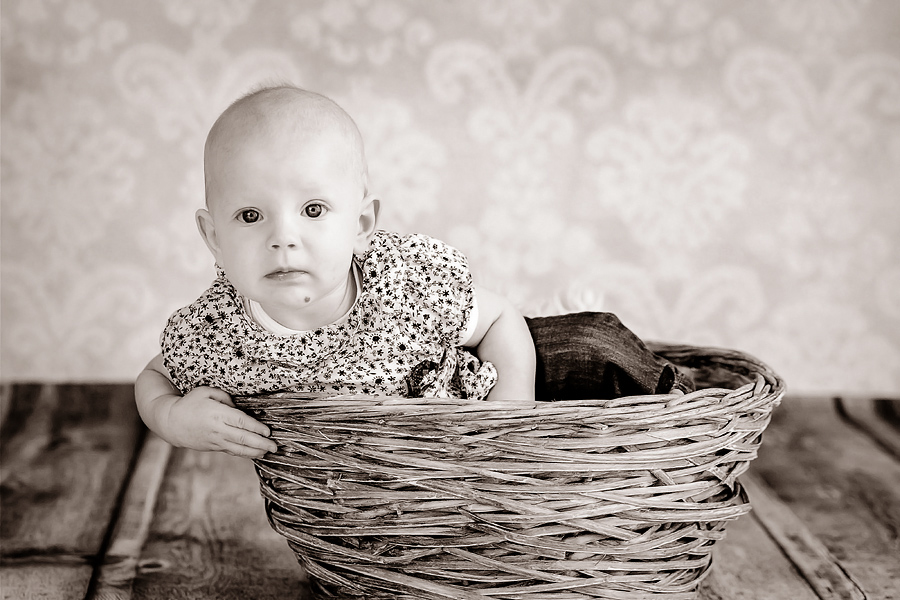 moderne Babyfotografie, Mathilda