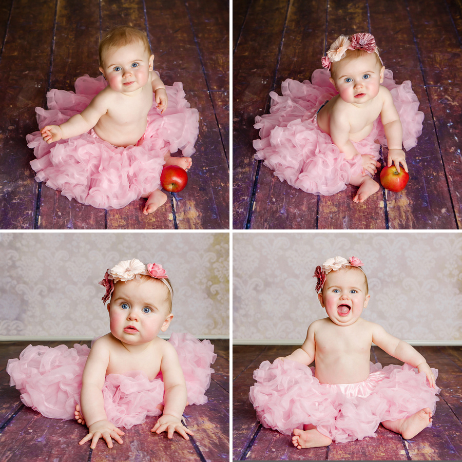 Babycollage, Baby im Tutu