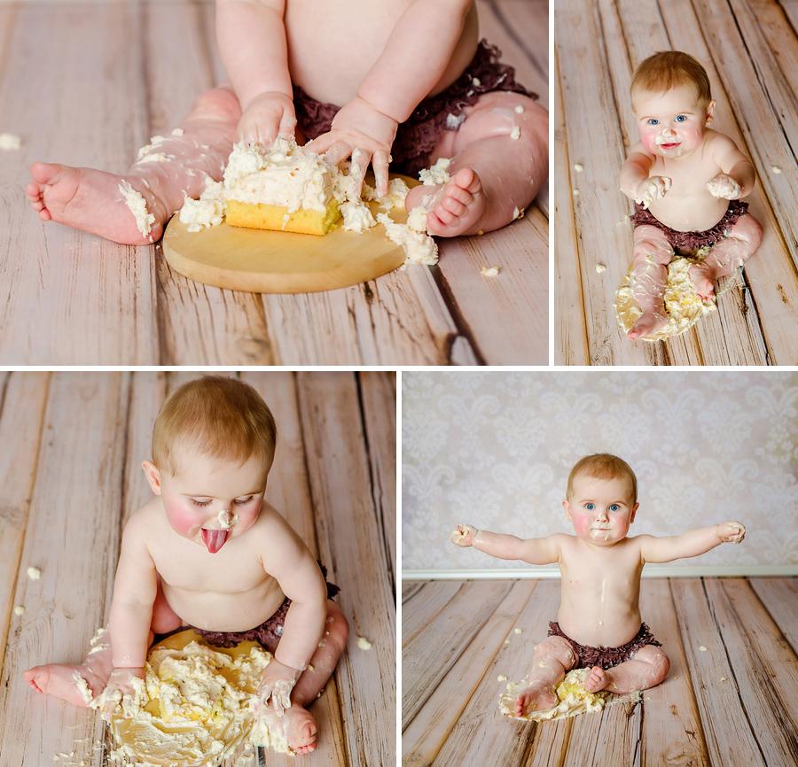 Wynn Photodesign, Baby mit Torte
