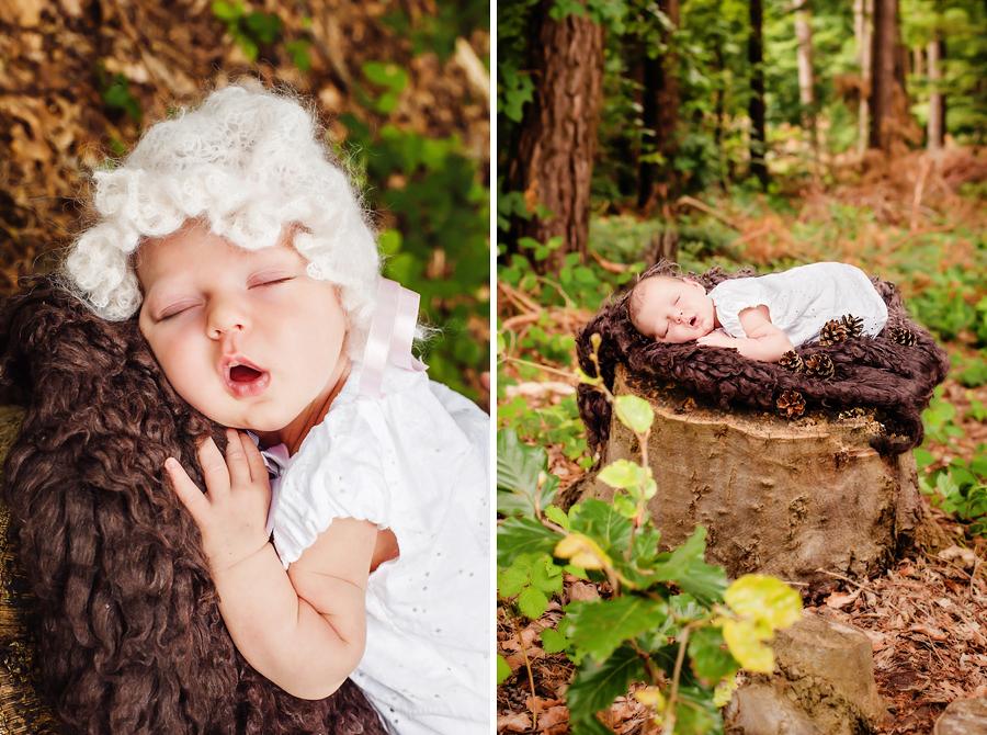 Babyfotos in der Natur, Wynn Photodesign