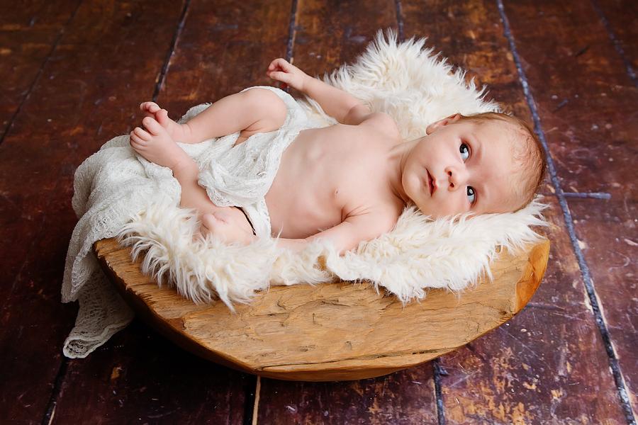 Babys erstes Fotoshooting
