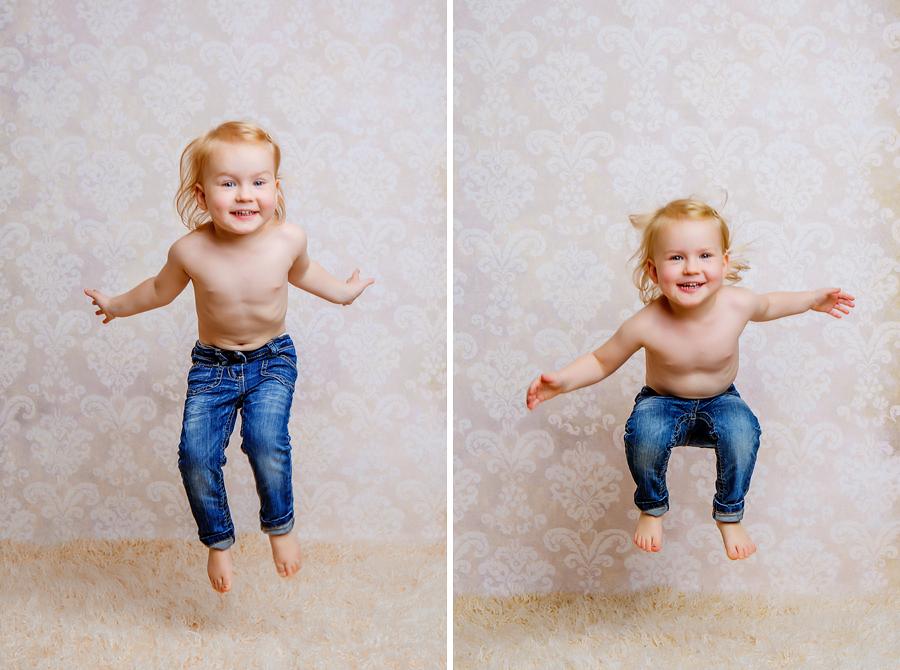 lebendige Kinderfotos