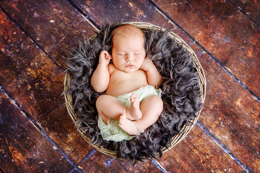Babyfotos als Geschenk