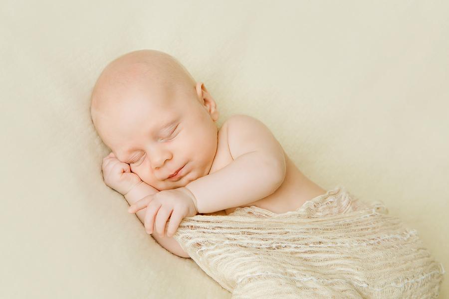 romantische Babyfotografie