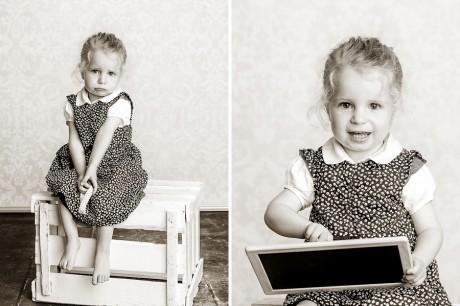 Kinder im Fotostudio