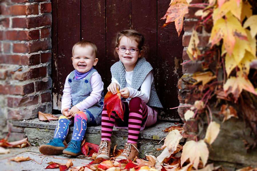 Kinderfotos Herbst
