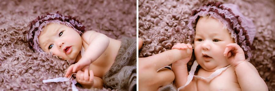 Details vom Baby fotografieren
