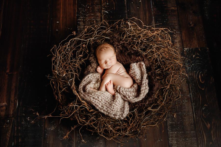 Babynest, moderne Neugeborenenfotografie paderborn
