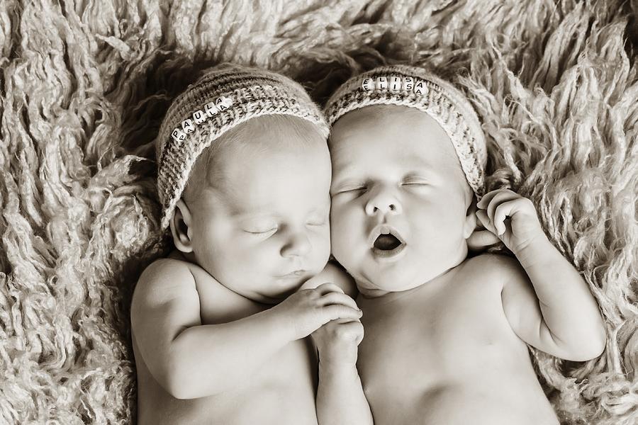 romantische Babyfotos