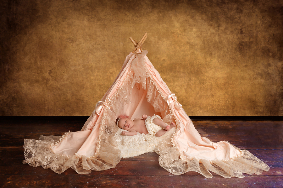 kreative Fotos Neugeborene