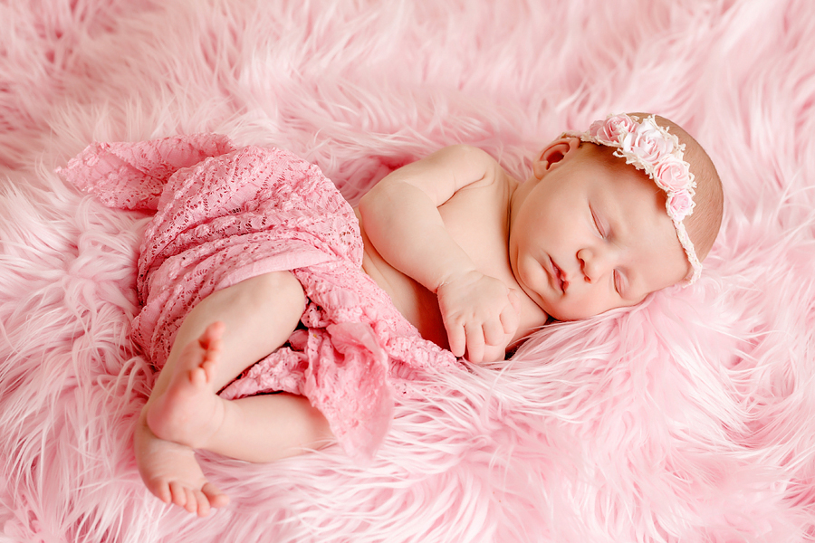 zeitlose Babyfotografie