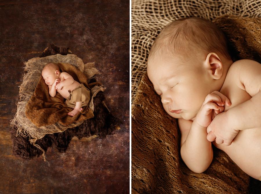 Neugeborenenshooting Studio