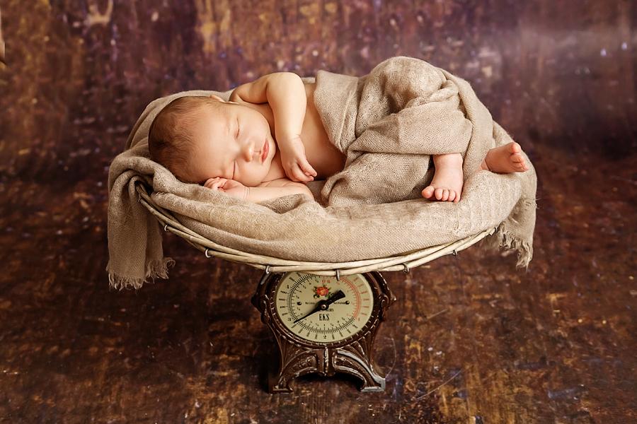 professionelle Neugeborenenfotos