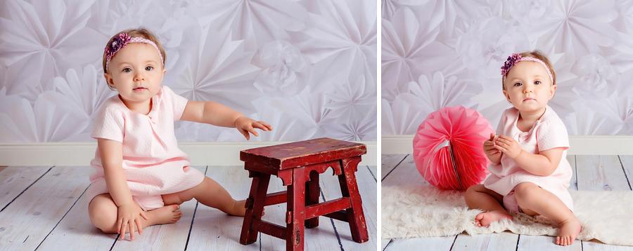 Baby Geburtstagsfotos