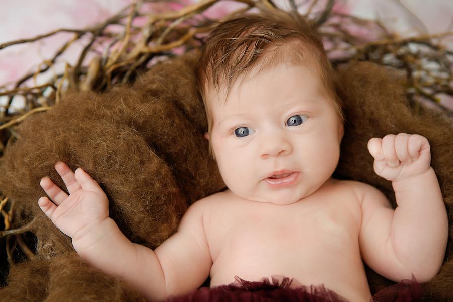 wache Babyfotos